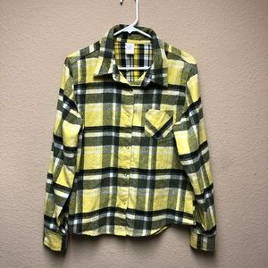 [Weissman Costumes] Yellow and Black Flannel